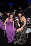 Sally Field and Gloria Reuben shared a table.