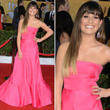 Lea Michele in Pink Valentino at the 2013 SAG Awards