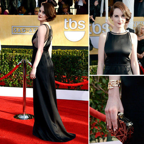 Michelle Dockery: SAG Awards Red Carpet Dresses 2013