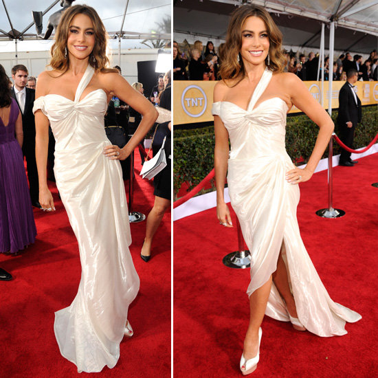 Sofia Vergara: SAG Awards Red Carpet Dresses 2013