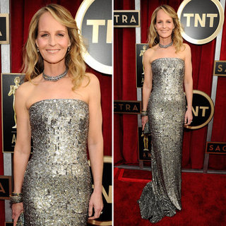 Helen Hunt: SAG Awards Red Carpet Dresses 2013