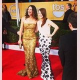 Jennifer Garner and Julianne Moore met up on the red carpet. Source: Instagram User popsugar