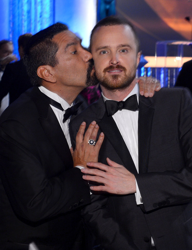 Steven Michael Quezada and Aaron Paul