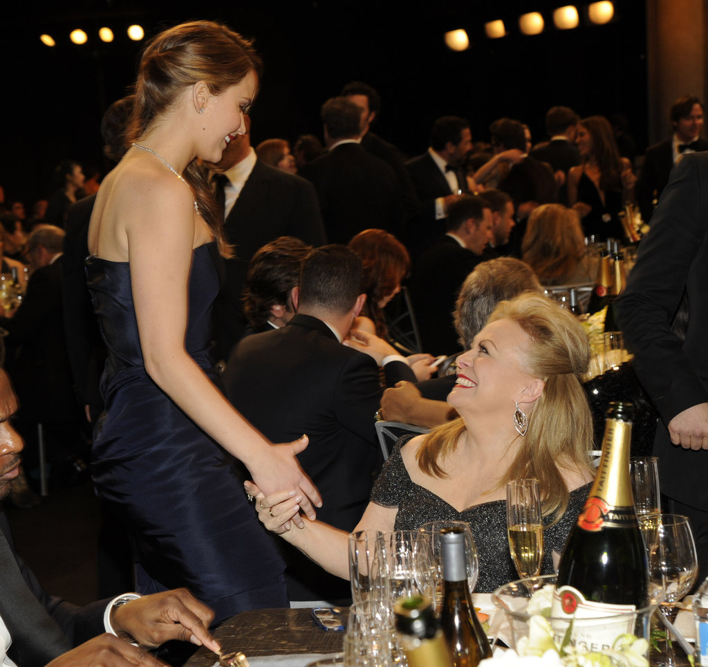 Jennifer Lawrence and Jacki Weaver