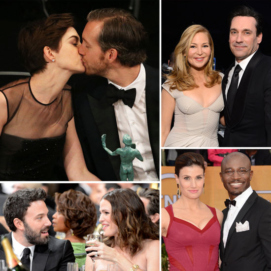See the Cutest Couple Moments at the SAG Awards