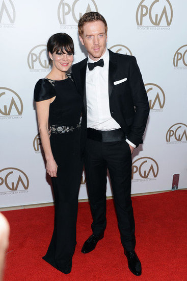 Helen McCrory and Damian Lewis(24th Annual Producers Guild Awards)