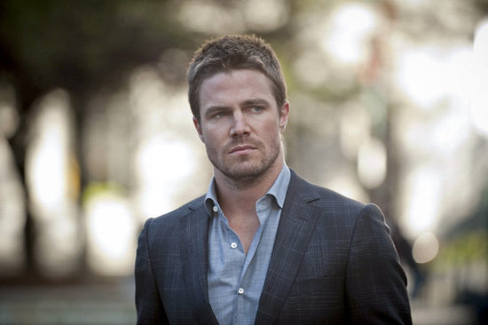 Stephen Amell on Arrow.