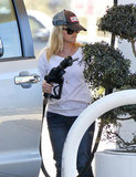 Reese Witherspoon wore a trucker hat.