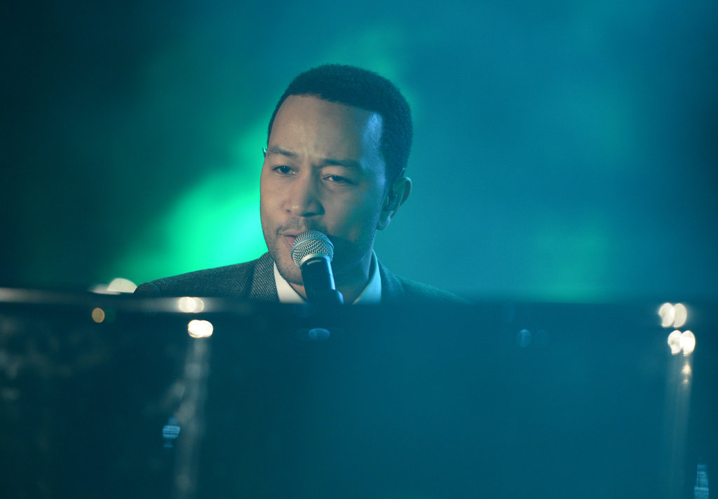 John Legend also performed at the Inaugural Youth Ball Saturday.