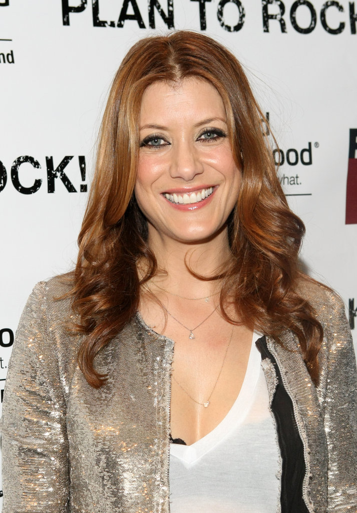 Actress Kate Walsh wore a sequin blazer to the Planned Parenthood & Rock the Vote 2013 Inauguration party Sunday.