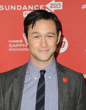 Joseph Gordon-Levitt was all smiles at Sundance.