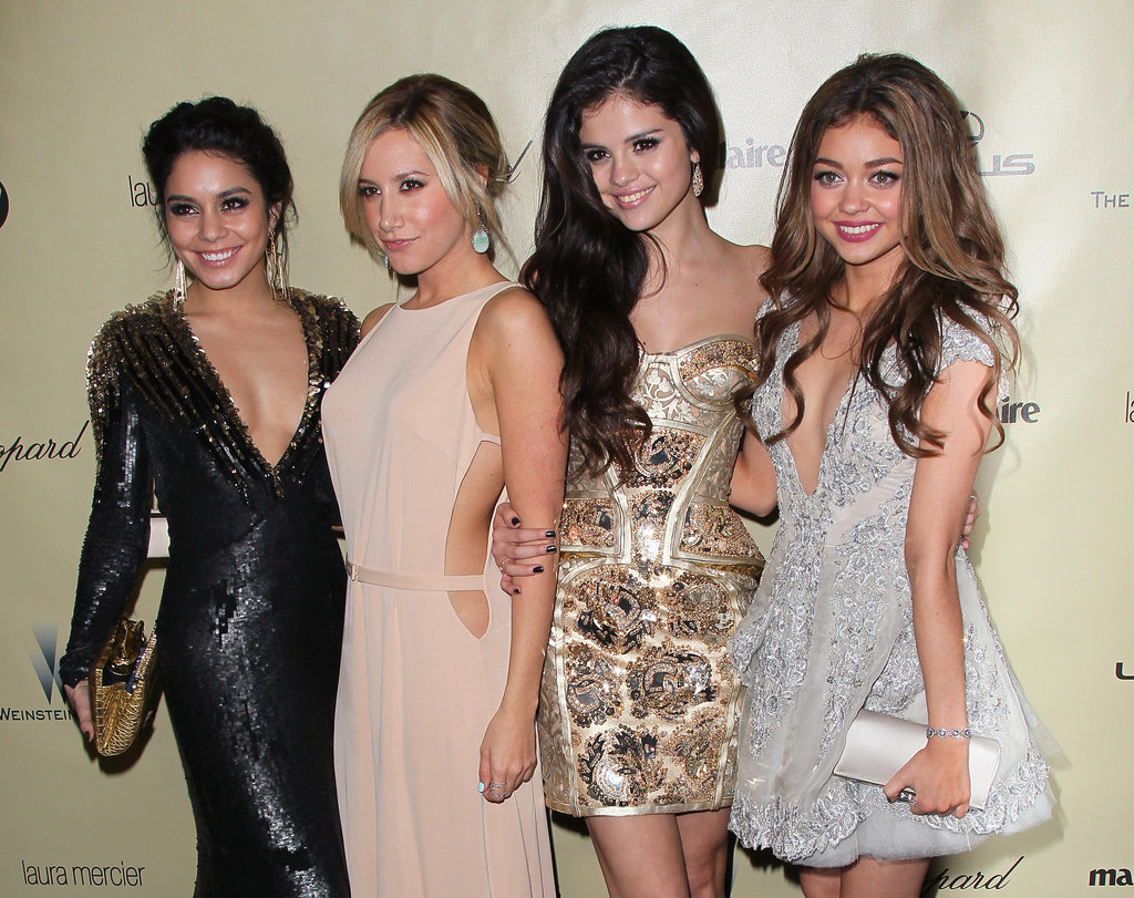 Vanessa Hudgens, Ashley Tisdale, Selena Gomez, and Sarah Hyland