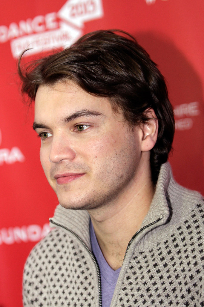 Emile Hirsch made a handsome appearance at Sundance.