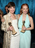 Anne Hathaway and Jessica Chastain