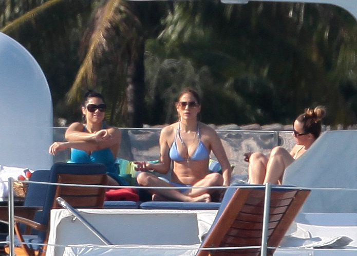 Jennifer Lopez Works a Bikini During a Family Trip to Miami