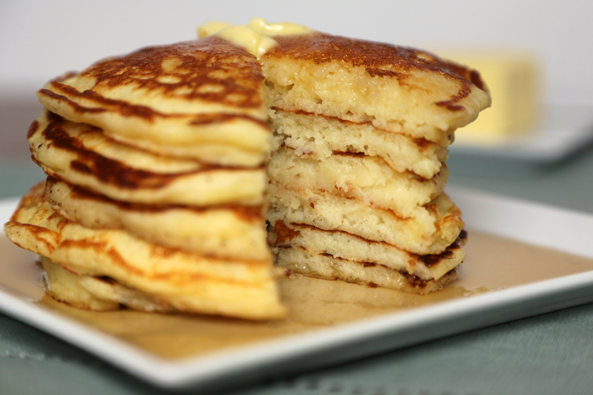 Buttermilk Pan Cake Recipe