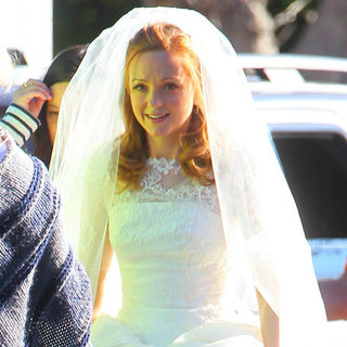 Emma's Wedding Dress on Glee Pictures