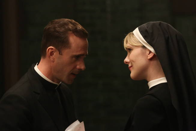Sister Mary Eunice Forces Herself on Monsignor