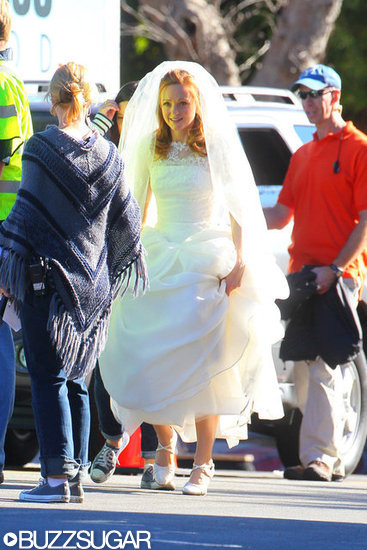 Glee Wedding: See Emma in Her Wedding Dress!