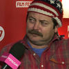 Nick Offerman Interview on Toy&#039;s House at Sundance (Video)