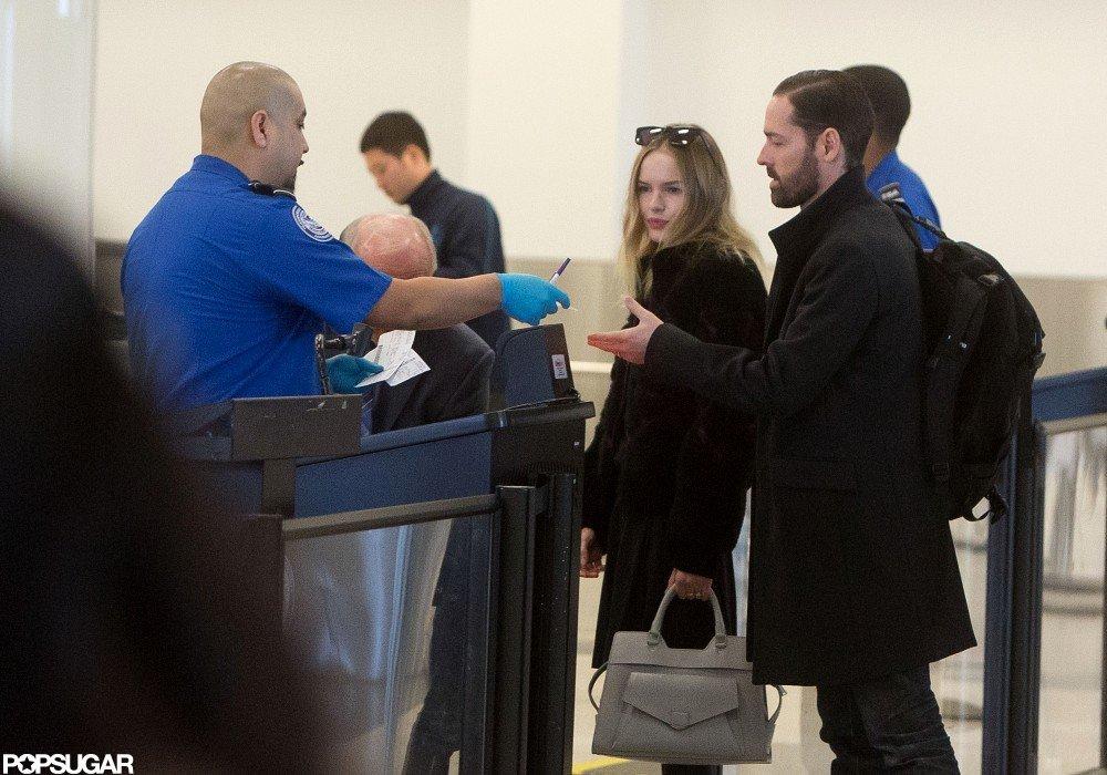 Kate Bosworth and Michael Polish headed to the Sundance Film Festival.