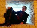 Evan Rachel Wood goofed around between interviews at the Sundance Film Festival. Source: Evan Rachel Wood on WhoSay