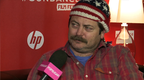 "Video: Nick Offerman on Ron Swanson's ""Terrifying"" New Turn and His ""Ultimate Disguise"""