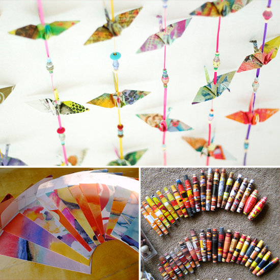 9 Ways to Upcycle Your 2012 Calendar
