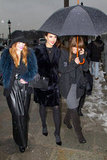 Jessica Alba, Chloë Moretz, and More Pound the Pavement in Paris