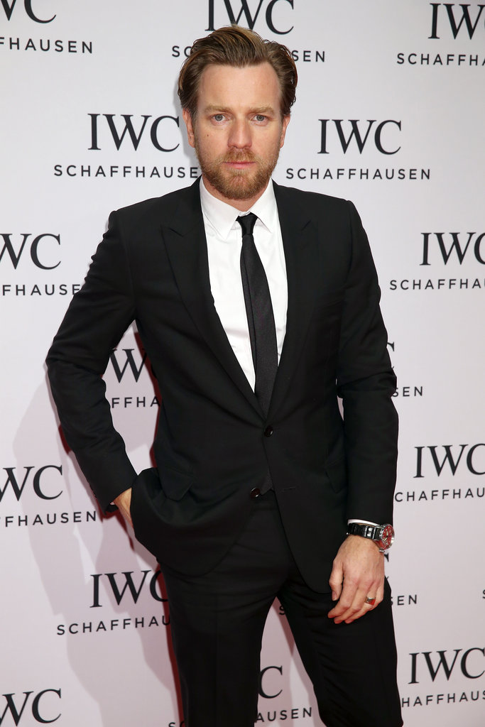 Ewan McGregor stepped out in Geneva, Switzerland.