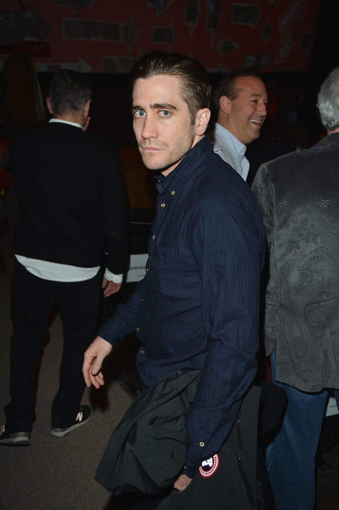 Jake Gyllenhaal at the Very Good Girls premiere in Park City.
