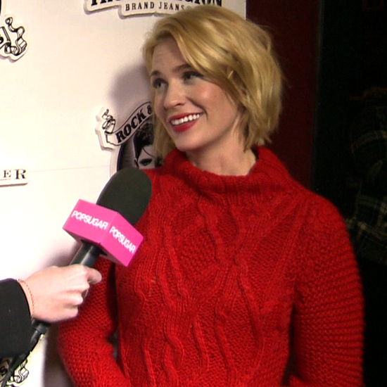 Interview: January Jones Talks About Sweetwater Movie and Mad Men at Sundance!