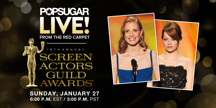 Join Us LIVE! From the Screen Actors Guild Awards Red Carpet TODAY!
