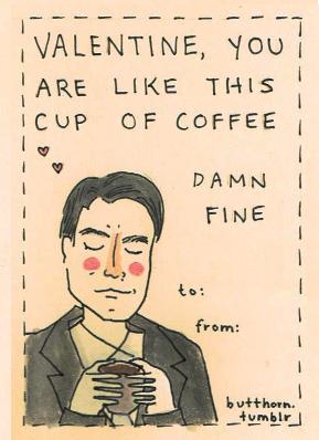 Twin Peaks Valentine