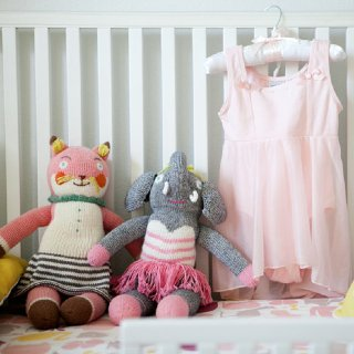Pink-and-Yellow Girl's Nursery