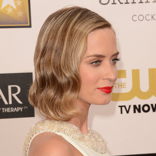 Celebrity Hair Trends: Cool Bobby Pins Like Emily Blunt