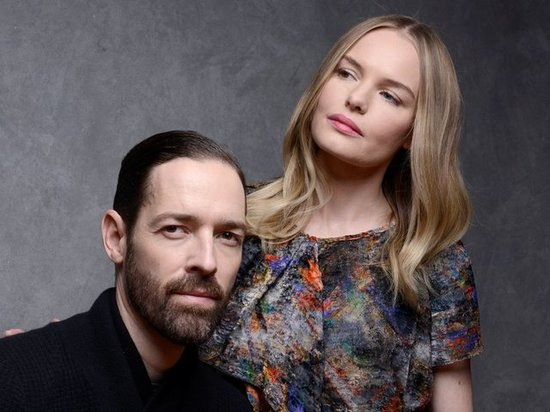 Big Sur star Kate Bosworth and her fiancé, Michael Polish — also the movie's director — promoted the film that brought them together.