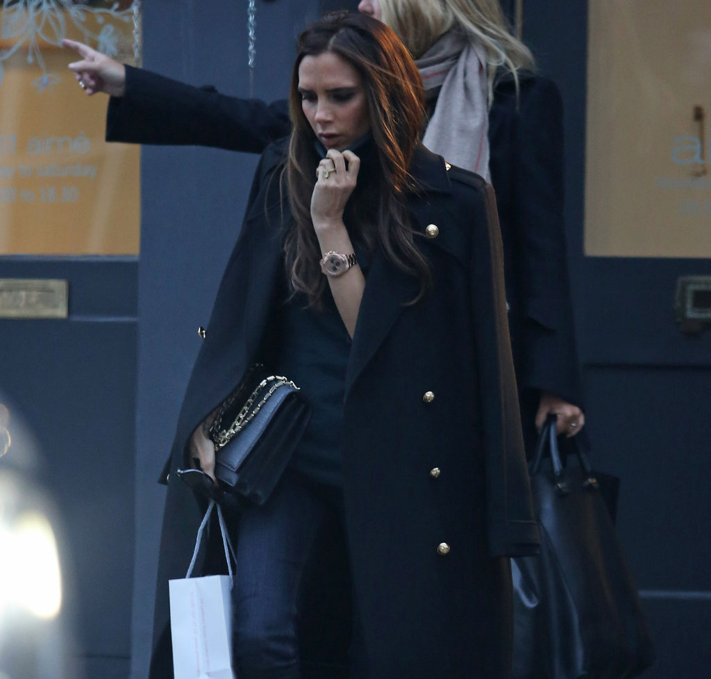 Victoria Beckham Shops London and Shares a Peek at Her New Website