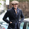 David Beckham Walks Around London | Pictures