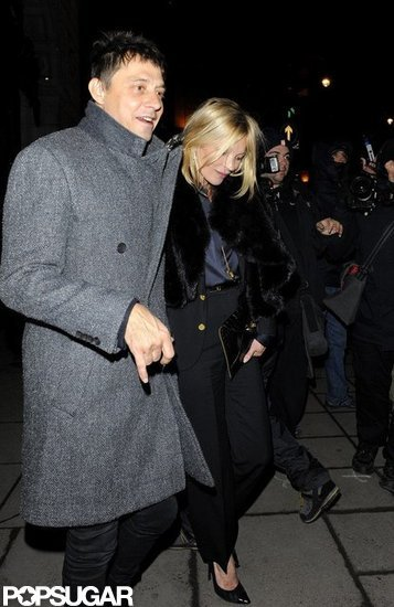 Jaime Hince held on to Kate Moss.