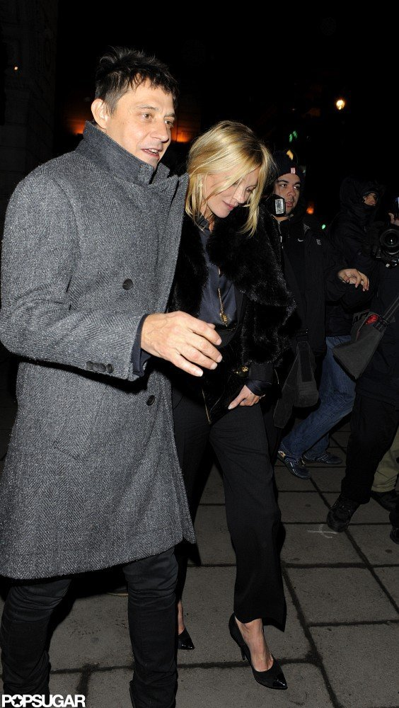 Kate Moss and Jamie Hince Stick Together During Date Night