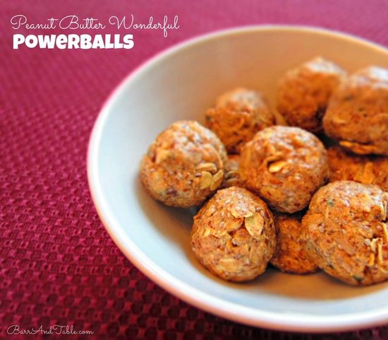 Barr & Table Peanut Butter & Co White Chocolate Wonderful Powerballs Perfect Fit Protein Tone It Up TIU