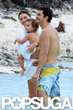 Miranda Kerr and husband Orlando Bloom jetted off to Mexico for a family vacation with baby Flynn.