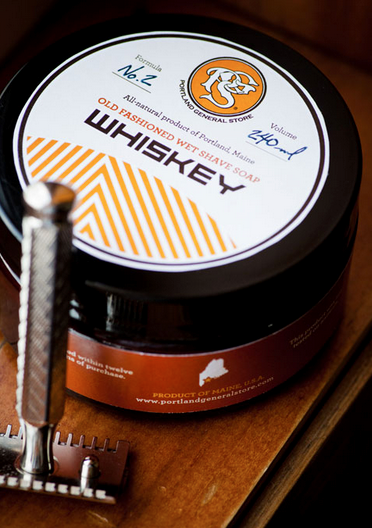 Whiskey Shave Soap