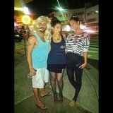 Erin McNaught attended a bogan-themed party with her friends. Source: Instagram user mcnaughty
