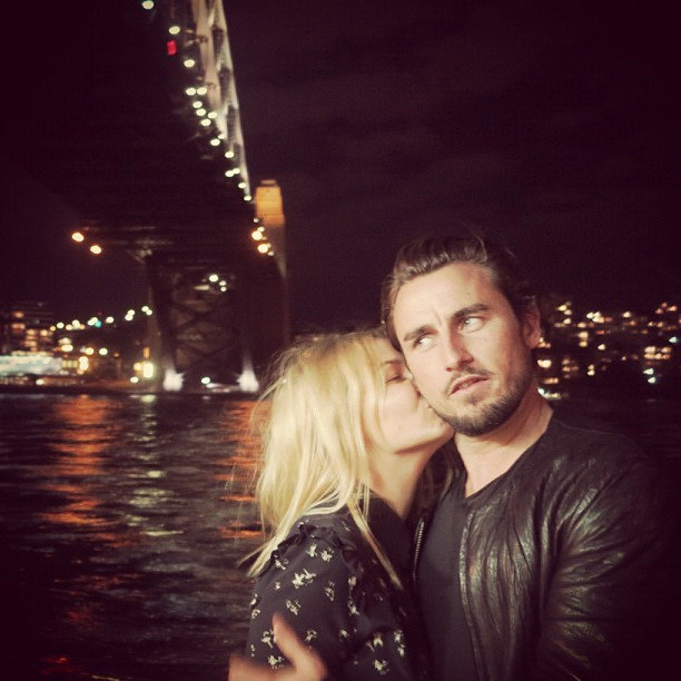 Lara Bingle and Gareth Moody