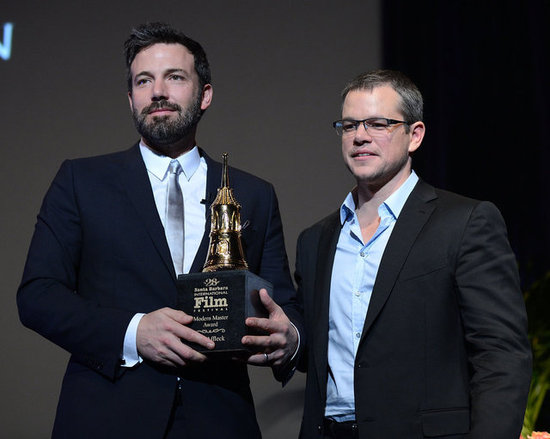 Matt Damon presented Ben Affleck with the modern master award at the Santa Barbara International Film Festival.