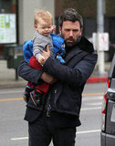 Ben Affleck and Jennifer Garner Bring Their Three Kids to Karate