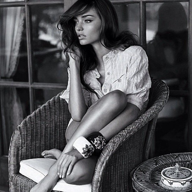 We absolutely adore this old Chris Colls photograph of Miranda Kerr. So natural and romantic!  Source: Instagram user chriscolls