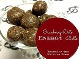 Cranberry Date Energy Balls